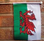 WALES - HAND WAVING FLAG (MEDIUM)